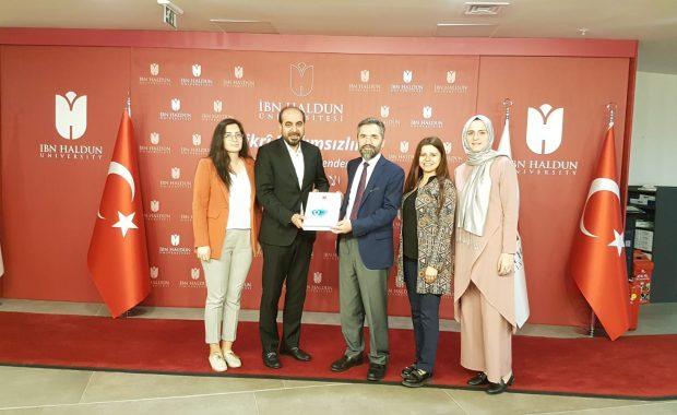 T.C. İbn Haldun Üniversitesi'ne KVKK Uyumluluk Raporunu Teslim Etmekten Gurur Duyuyoruz